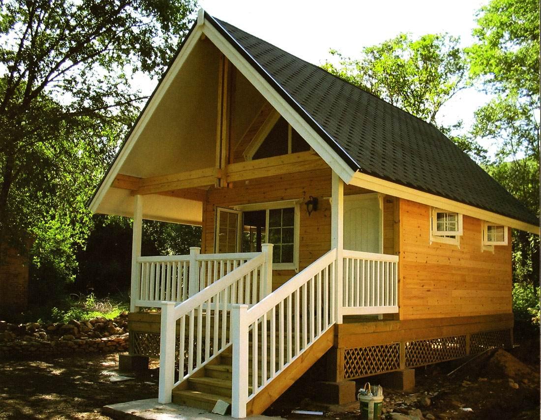 成都小木屋—建一栋漂亮的小木房子